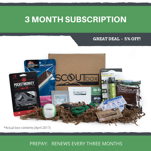 3 Month Subscription - SCOUTbox