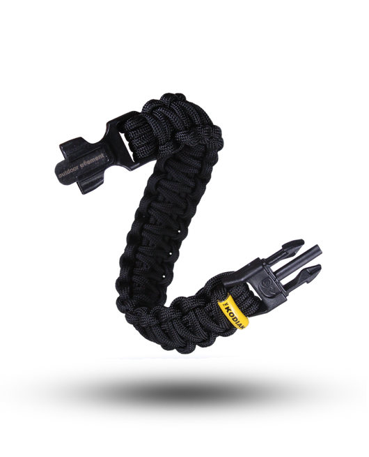 Outdoor Element Kodiak Survival Paracord Bracelet - SCOUTbox