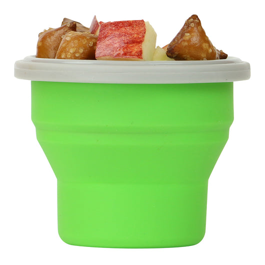 EcoVessel - COLLAPSIBLE Snacker Silicone Food Container 8 oz.