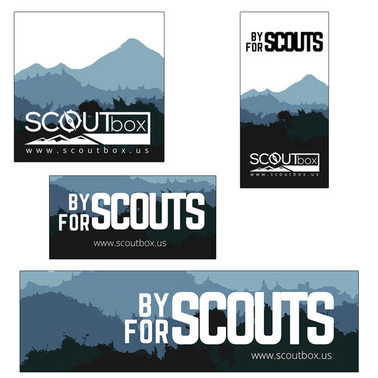 SCOUTbox Sticker Pack - SCOUTbox
