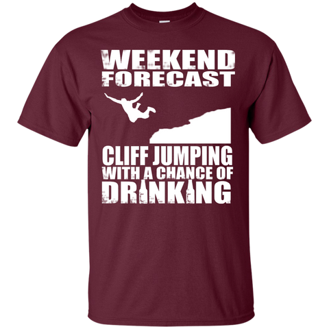 CLIFF JUMPING EDITION - Custom Ultra Cotton T-Shirt