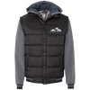 Nylon Vest with Fleece Sleeves