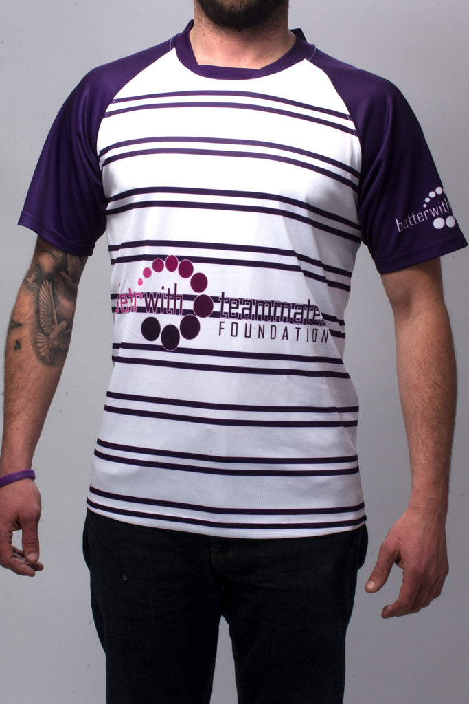 See Purple Think Rugby Alternate Jersey