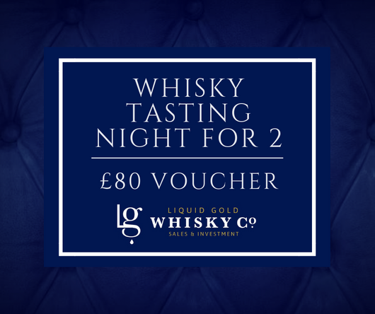 Whisky Tasting Night for 2 - £80 Voucher
