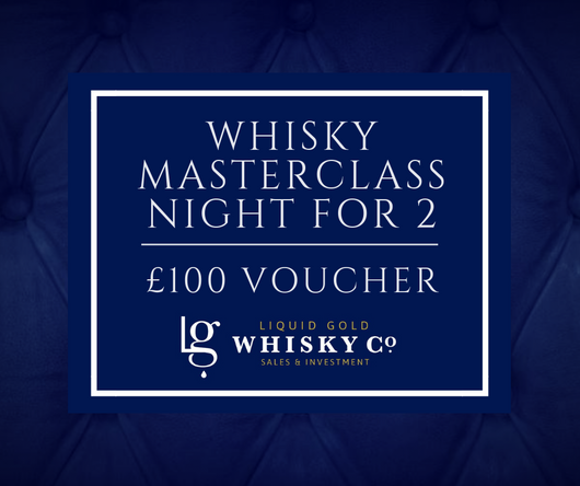 Whisky Masterclass for 2 - £100 Voucher