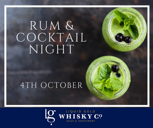Rum & Cocktails Night - 4th October 2019