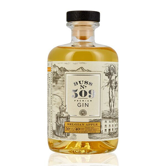Buss No.509 Belgian Apple Gin Bottling Note