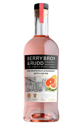Berry Bros. & Rudd Classic Pink Grapefruit & Rosemary Distilled Gin