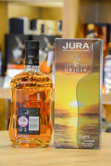 Jura Origin 10 Years Old Back