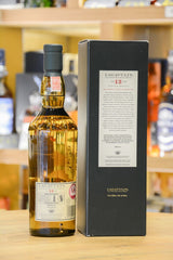 Lagavulin 12 Year Old 2012 Release Back