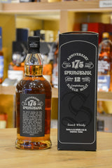 Springbank 12 Year Old - 175th Anniversary Back