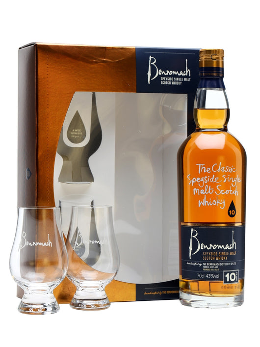 Benromach 10 Year Old Glass Pack