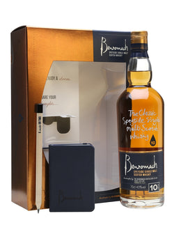 Benromach 10 Year Old Note Book Gift Set