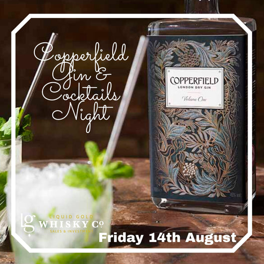 Copperfield Gin & Cocktails Night - Friday 14th August 2020
