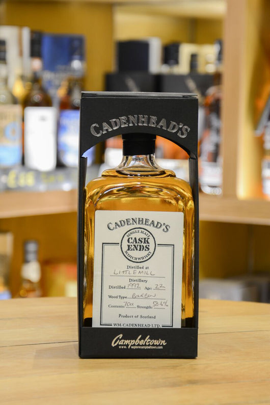 Littlemill 22 Year Old  - Cadenhead's Hand Filled