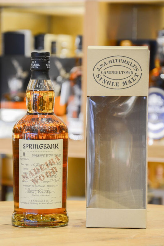 Springbank 11 Year Old Madeira Wood 1997 Front