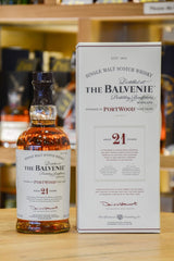 The Balvenie PortWood 21 Year Old Front