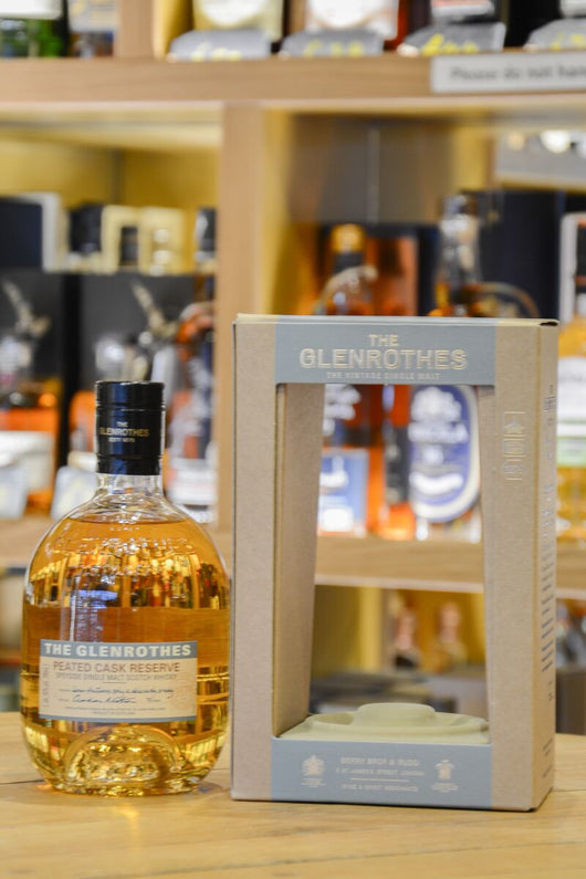 The glenrothes Peated Cask Reserve Front