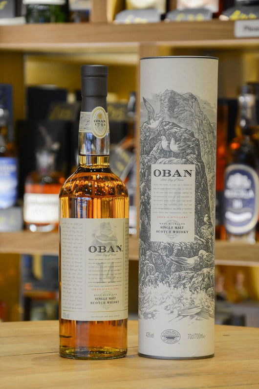 Oban 14 Year Old Front