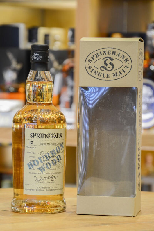 Springbank 12 Year Old Bourbon Wood 1991 Front