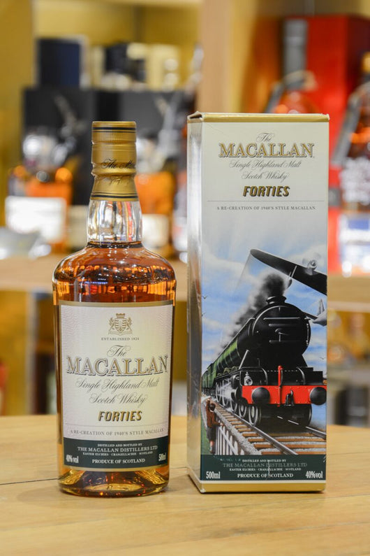 Macallan Travel Series - Forties Front