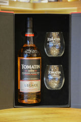 Tomatin Gift Set With 2 Glasses