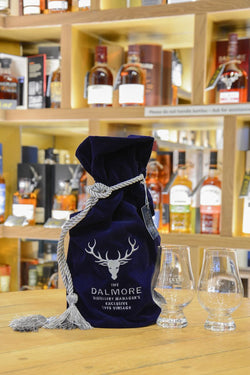 Dalmore 15 Year Old Whisky Gift Set With 2 Glasses Front