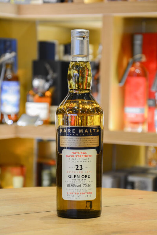 Glen Ord 23 Year Old -Rare Malts Front