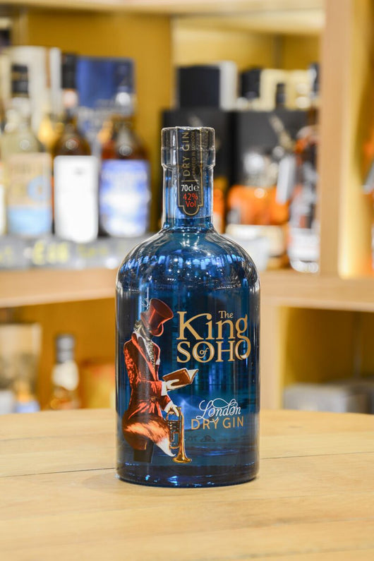 The King of Soho London Dry Gin Front
