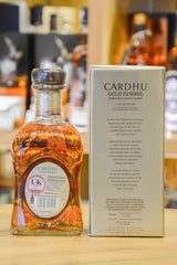 Cardhu Gold Reserve Back
