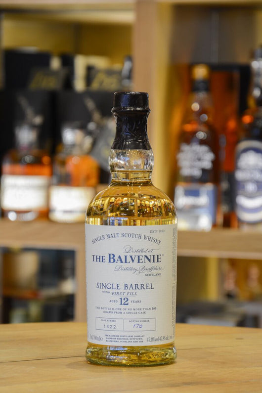 The Balvenie Single Barrel 12 Year Old Front