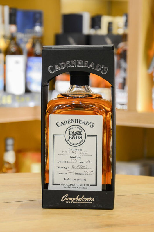 Dallas Dhu 34 Year Old 1979 - Cadenheads Cask Ends