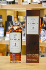 Macallan 12 Year Old Sherry Oak Front