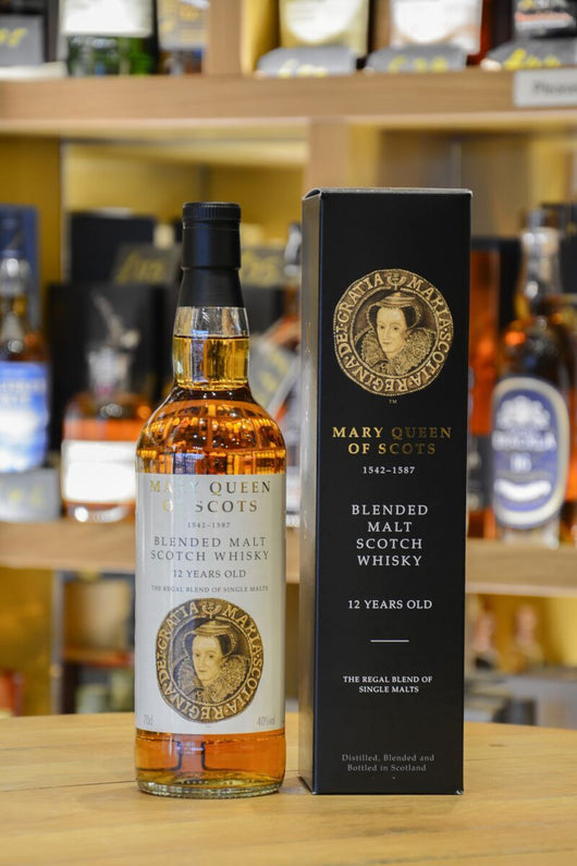Mary Queen Of Scots Blended Malt Front