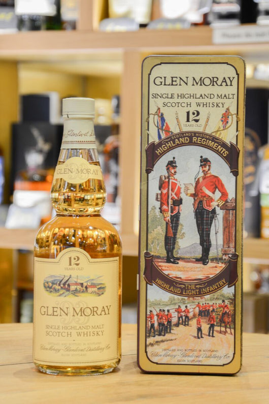 Glen Moray 12 Year Old - Highland Regiments Series Front
