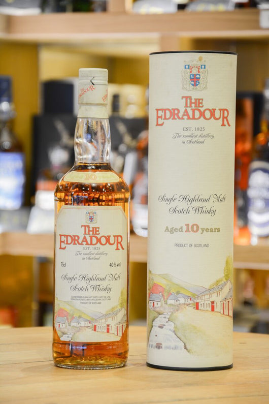 Edradour 10 Year Old (Eighties Bottling) Front