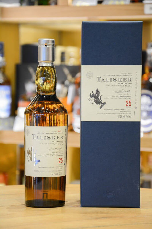 Talisker 25 Year Old 2008 Release Front