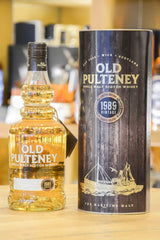 Old Pulteney 1989 Vintage Limited Edition Front