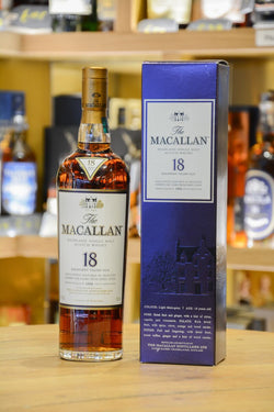 Macallan 18 Year Old Sherry Oak 1994 Front