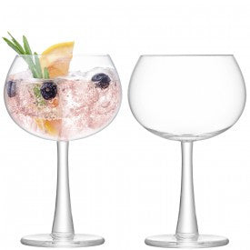 Gin Balloon Glass x 2