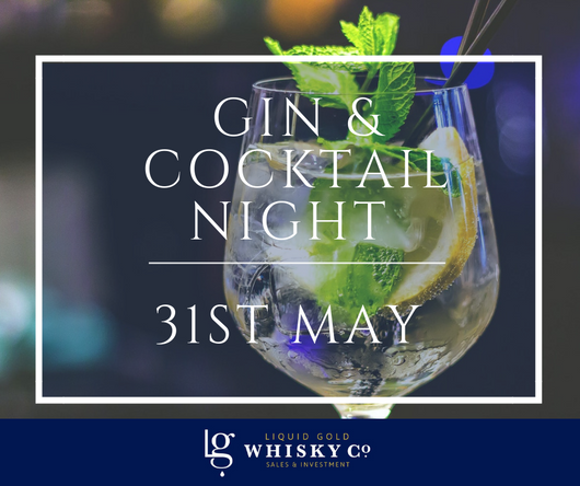 Gin & Cocktail Night - 31st May 2019
