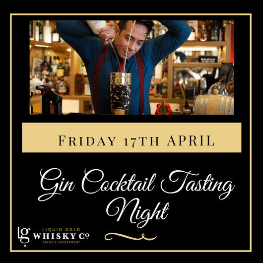 Gin & Cocktails Night - 17th April 2020