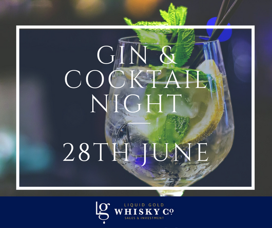 Gin & Cocktail Night -28th June 2019