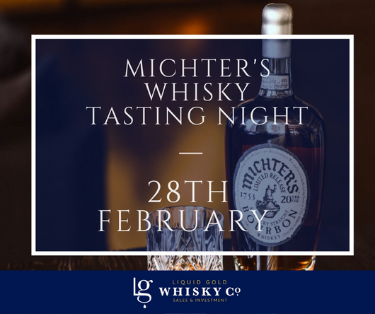 Michter's Tasting Night - 28th February 2020 SOLD OUT