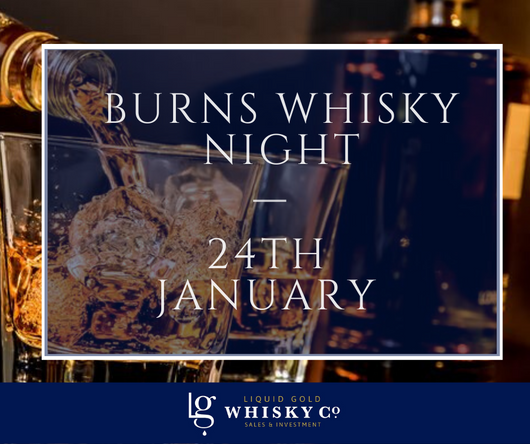 Burns Whisky Night - 24th January 2020 SOLD OUT!