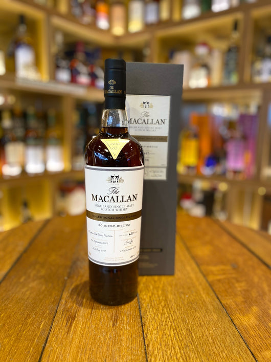 Macallan 2002 15 Year Old Single Cask #8167/02 Exceptional Cask 2018 Release
