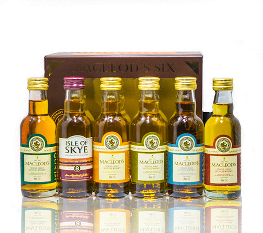 Macleod's Six Scotch Whisky Gift Pack