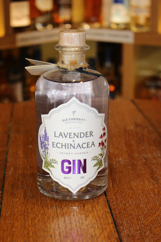 Old Curiosity Lavender & Echinacea Gin