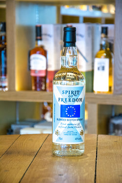 Spirit of Freedom Blended Scotch Whisky Front