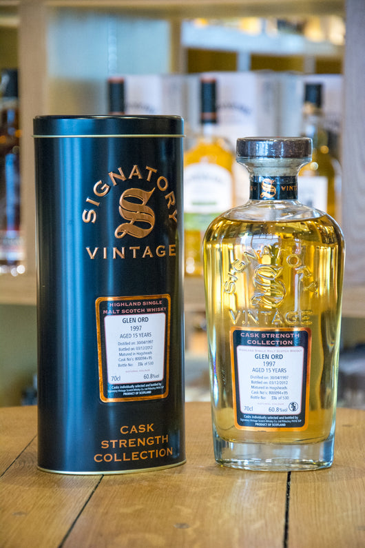 Signatory Vintage Glen Ord Cask Strength Collection